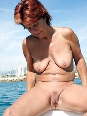 My redhead wifey love to go naked