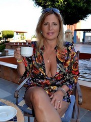 Elegant American mature mature ladies..