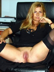 The most juicy, shaved and wet mature..