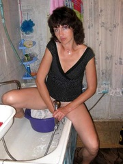 Nasty mature housewives satisfies in..