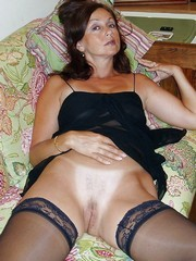 Amateur MILF and Mature in Stockings,..