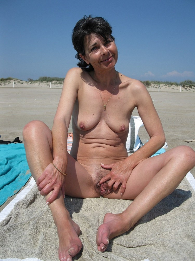 Hot nude wife on beach believe, that