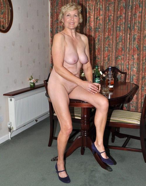 normal older nude women